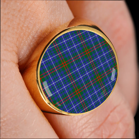 Edmonstone  Tartan Ring Th8