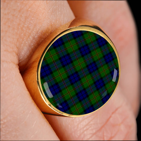 Dundas Modern  Tartan Ring Th8