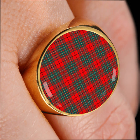 Cumming Modern  Tartan Ring Th8