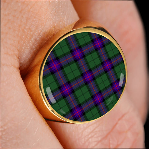Armstrong Modern  Tartan Ring Th8