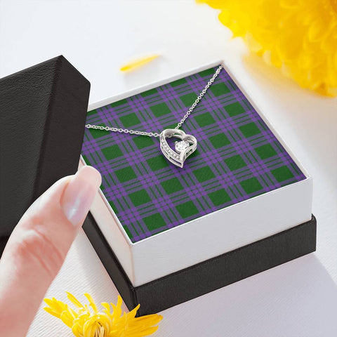 Elphinstone Tartan Necklace - Forever Love Necklace A7