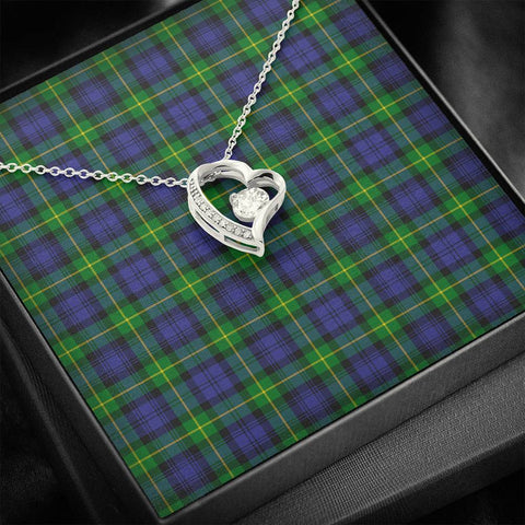 Image of Gordon Modern Tartan Necklace - Forever Love Necklace A7