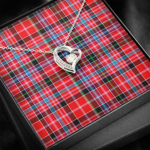 Aberdeen District Tartan Necklace - Forever Love Necklace A7