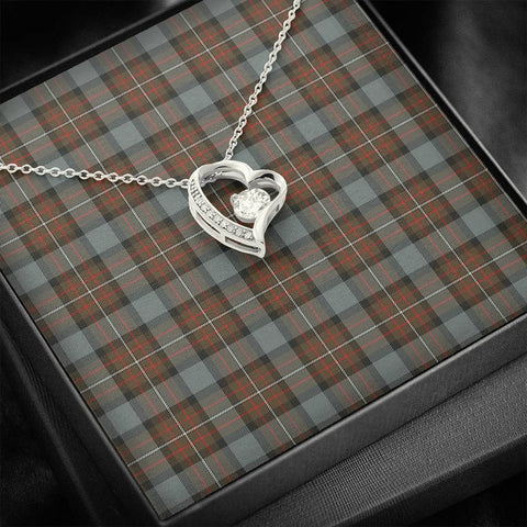 Image of Fergusson Weathered Tartan Necklace - Forever Love Necklace A7