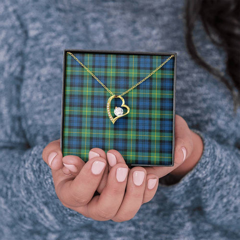 Gordon Ancient Tartan Necklace - Forever Love Necklace A7