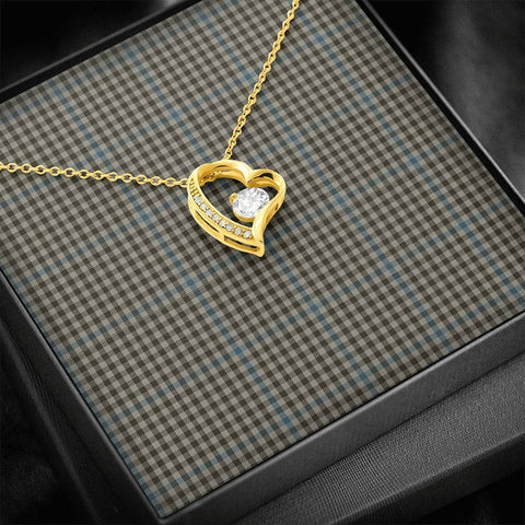 Haig Check Tartan Necklace - Forever Love Necklace A7
