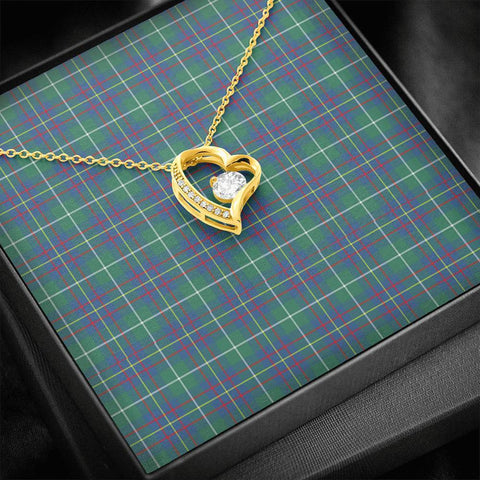 Inglis Ancient Tartan Necklace - Forever Love Necklace A7
