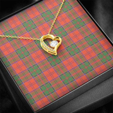 Grant Ancient Tartan Necklace - Forever Love Necklace A7