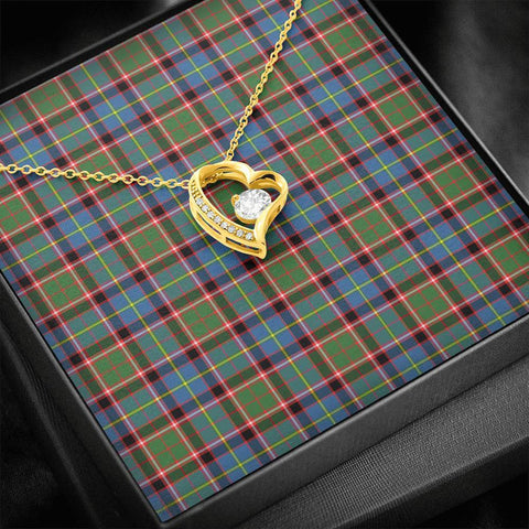 Stirling & Bannockburn District Tartan Necklace - Forever Love Necklace A7