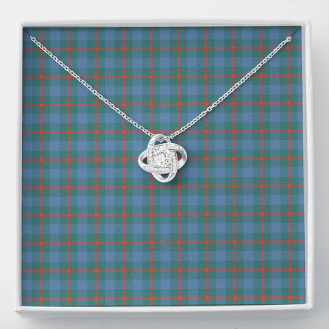 Agnew Ancient Tartan Necklace - The Love Knot A7