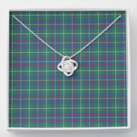 Inglis Ancient Tartan Necklace - The Love Knot A7