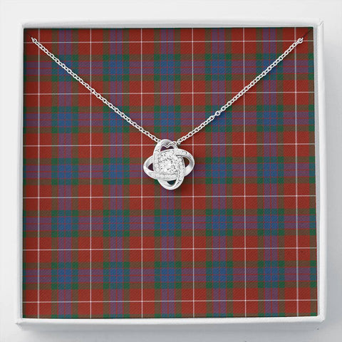 Fraser Ancient Tartan Necklace - The Love Knot A7