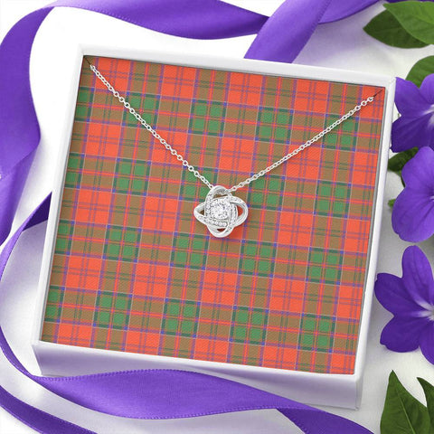 Grant Ancient Tartan Necklace - The Love Knot A7