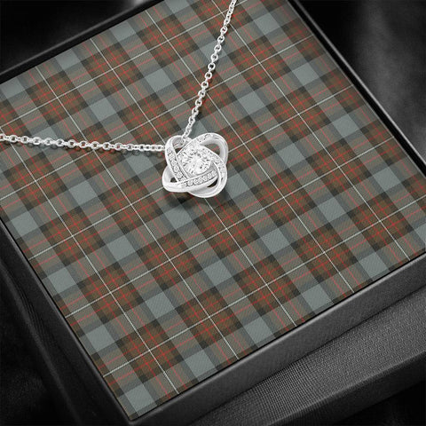 Image of Fergusson Weathered Tartan Necklace - The Love Knot A7