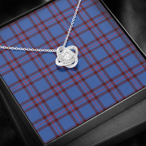 Image of Elliot Modern Tartan Necklace - The Love Knot A7