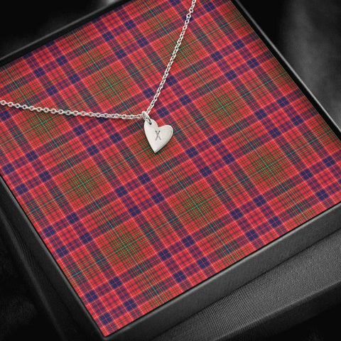 Lumsden Modern Tartan Necklace - Sweetest Hearts Necklace | Over 500 Tartans | Made in USA | Fast Shipping