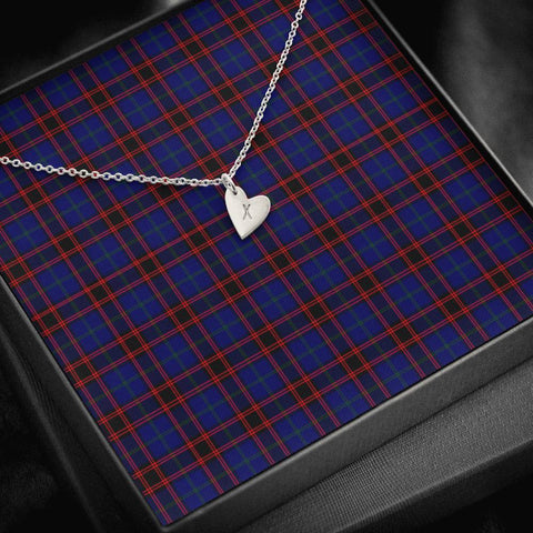 Home Modern Tartan Necklace - Sweetest Hearts Necklace | Over 500 Tartans | Made in USA | Fast Shipping