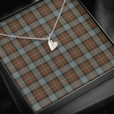 Fergusson Weathered Tartan Necklace - Sweetest Hearts Necklace | Over 500 Tartans | Made in USA | Fast Shipping