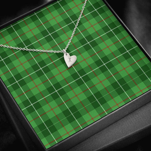 Galloway District Tartan Necklace - Sweetest Hearts Necklace | Over 500 Tartans | Made in USA | Fast Shipping