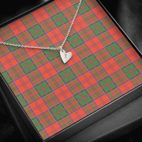 Image of Grant Ancient Tartan Necklace - Sweetest Hearts Necklace | Over 500 Tartans | Made in USA | Fast Shipping