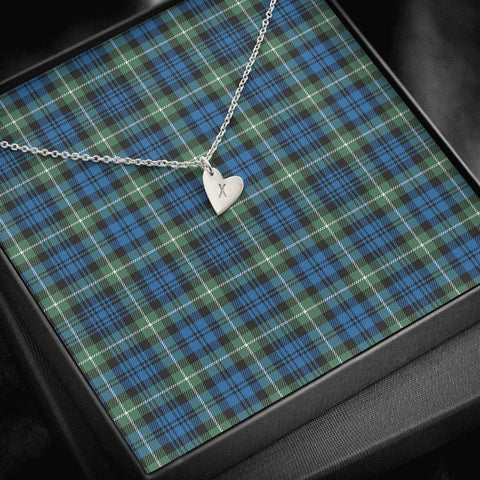 Lamont Ancient Tartan Necklace - Sweetest Hearts Necklace | Over 500 Tartans | Made in USA | Fast Shipping