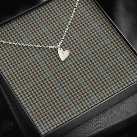 Haig Check Tartan Necklace - Sweetest Hearts Necklace | Over 500 Tartans | Made in USA | Fast Shipping