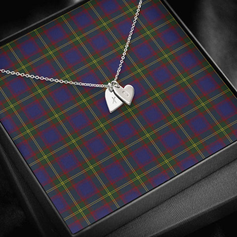 ScottishClans Durie Tartan Necklace - Sweetest Hearts Necklace A7