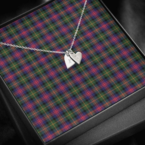 ScottishClans Logan Modern Tartan Necklace - Sweetest Hearts Necklace A7