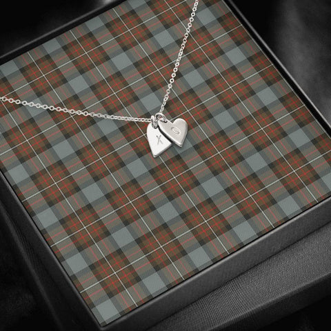 ScottishClans Fergusson Weathered Tartan Necklace - Sweetest Hearts Necklace A7