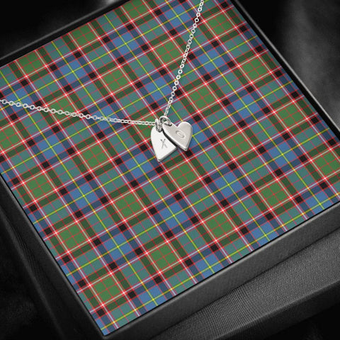 Image of ScottishClans Stirling & Bannockburn District Tartan Necklace - Sweetest Hearts Necklace A7