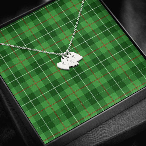 ScottishClans Galloway District Tartan Necklace - Sweetest Hearts Necklace A7