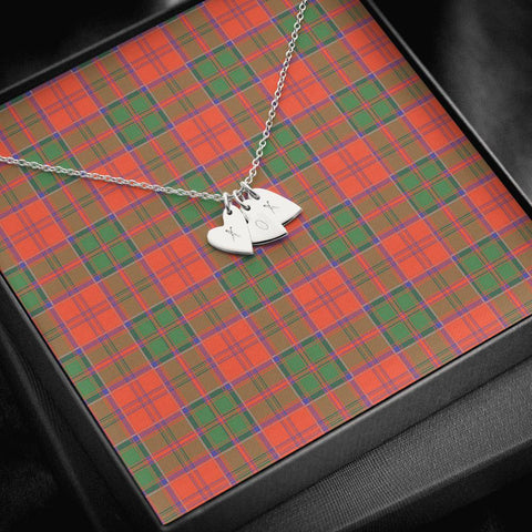 Image of ScottishClans Grant Ancient Tartan Necklace - Sweetest Hearts Necklace A7