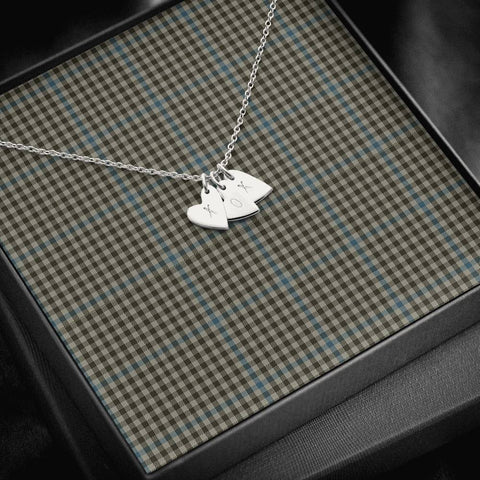 ScottishClans Haig Check Tartan Necklace - Sweetest Hearts Necklace A7