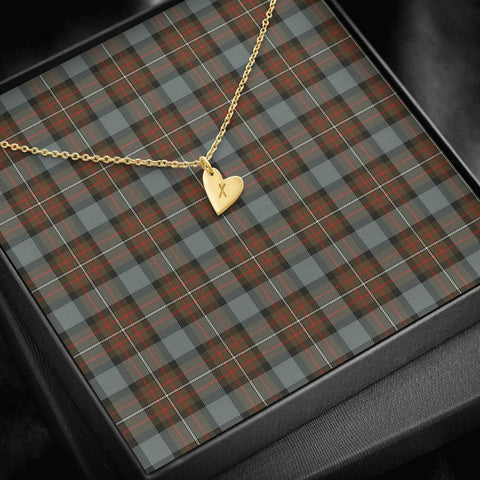 Image of ScottishClans Fergusson Weathered Tartan Necklace - Sweetest Hearts Necklace A7