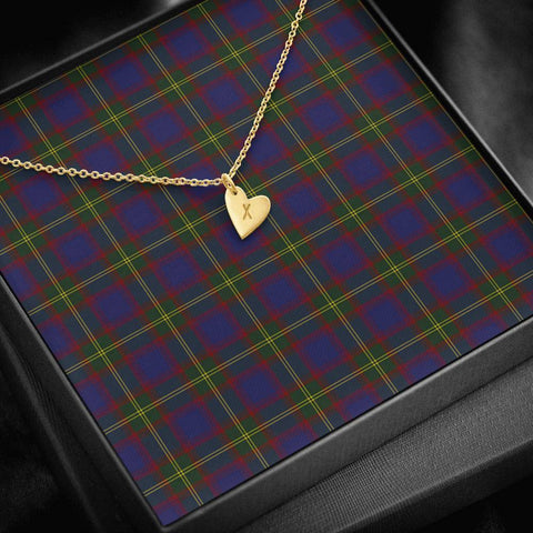 Image of ScottishClans Durie Tartan Necklace - Sweetest Hearts Necklace A7