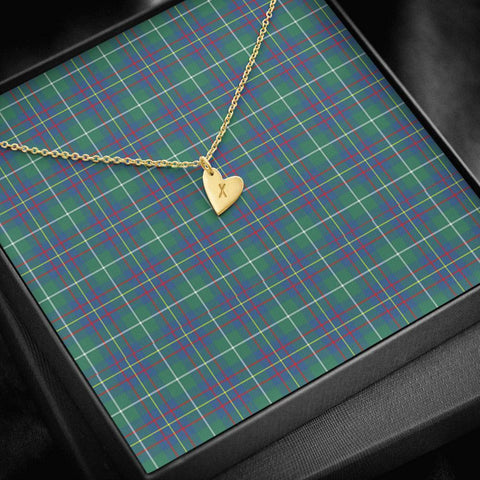 ScottishClans Inglis Ancient Tartan Necklace - Sweetest Hearts Necklace A7