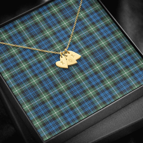 ScottishClans Lamont Ancient Tartan Necklace - Sweetest Hearts Necklace A7