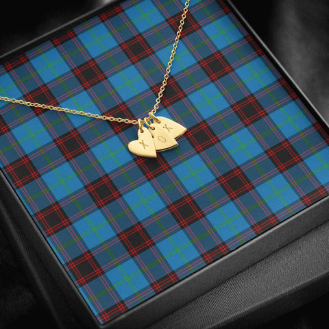 ScottishClans Home Ancient Tartan Necklace - Sweetest Hearts Necklace A7