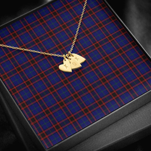 ScottishClans Home Modern Tartan Necklace - Sweetest Hearts Necklace A7