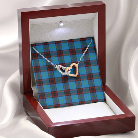 Home Ancient Tartan Necklace - Interlocking Hearts A7