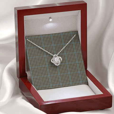 Haig Check Tartan Necklace - The Love Knot A7