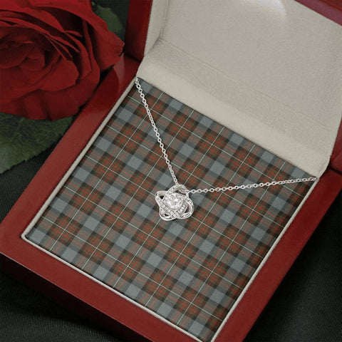 Fergusson Weathered Tartan Necklace - The Love Knot A7