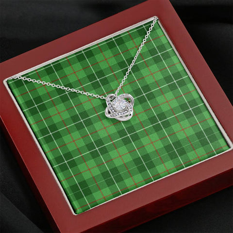 Galloway District Tartan Necklace - The Love Knot A7