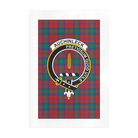 Auchinleck Clan Tartan Art Print | Tartan Decor | Hot Sale