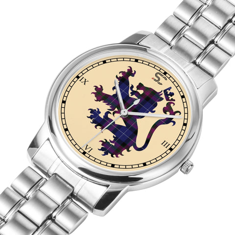 Pride of Scotland Tartan Watch Lion Scottish Vesion K7