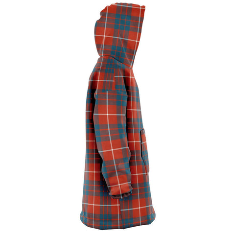Hamilton Ancient Snug Hoodie - Unisex Tartan Plaid Right