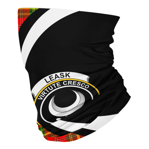 Image of Leask Tartan Neck Gaiter Circle HJ4 (USA Shipping Line)