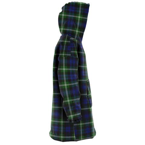 Baillie Modern Snug Hoodie - Unisex Tartan Plaid Right