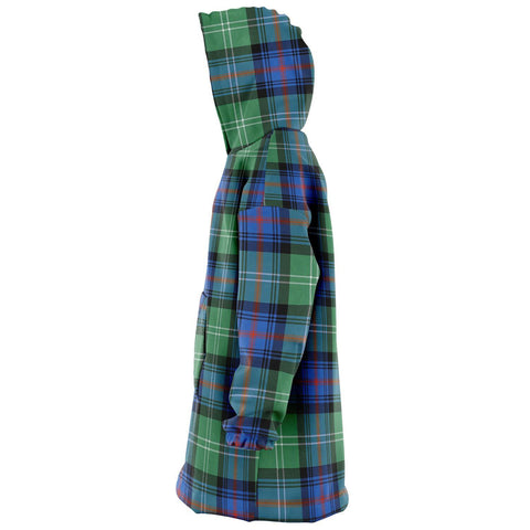 Sutherland Old Ancient Snug Hoodie - Unisex Tartan Plaid Left