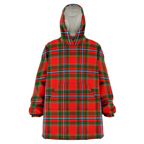 Drummond of Perth Snug Hoodie - Unisex Tartan Plaid Front